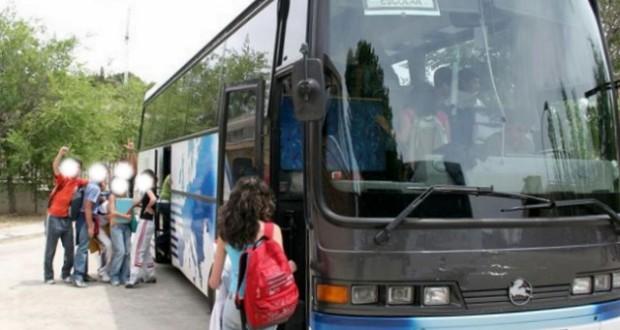 Foto de Archivo de transporte escolar