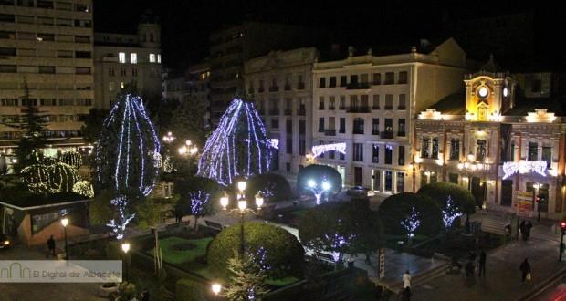 iluminacion navidad albacete 10