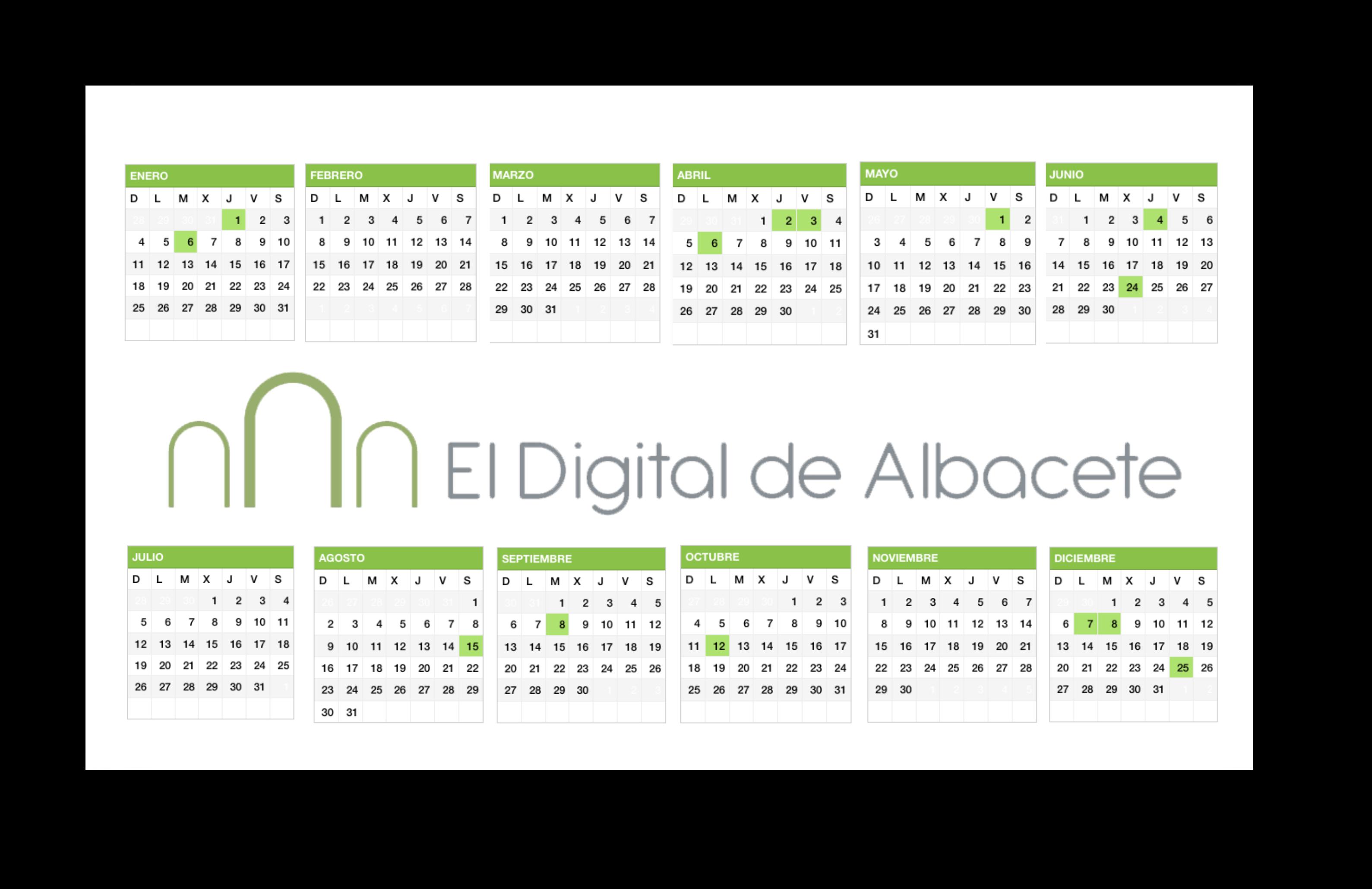 calendario laboral albacete 2015
