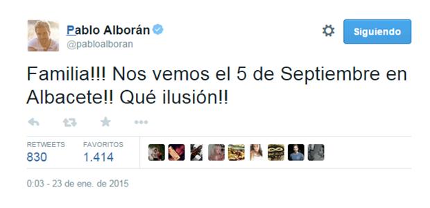 Tweet Alboran
