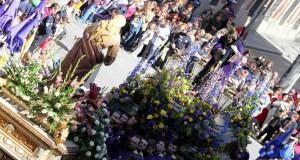 Jueves Santo Procesión Encuentro Semana Santa Albacete 2015  25