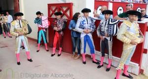 Ponce, Cayetano y Perera Corrida Asprona Toros 2015 15