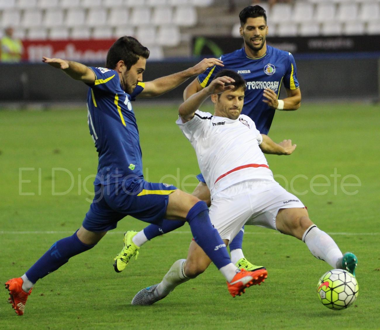 Albacete Balompié Getafe Pretemporada Javi Romero  19