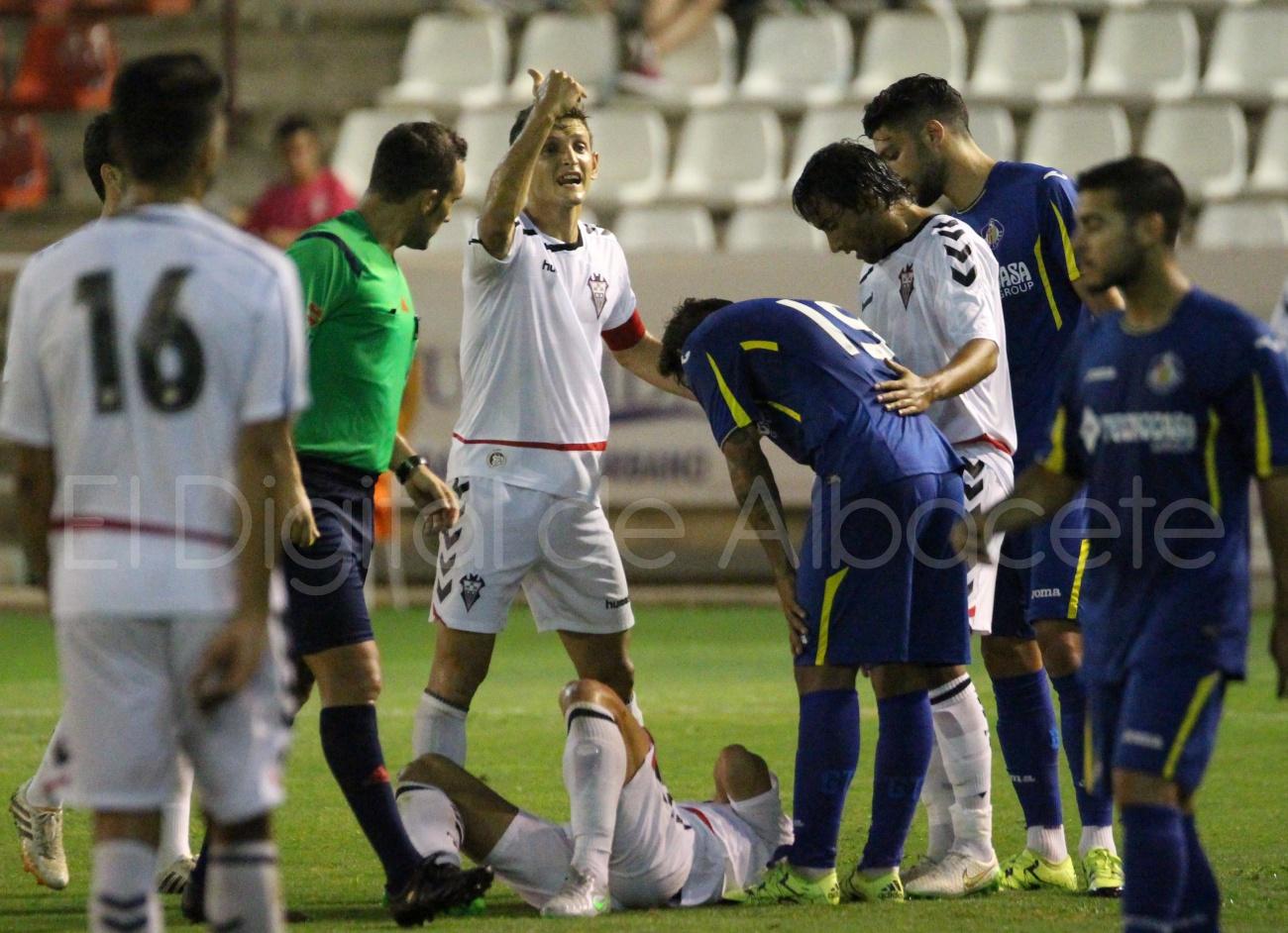 Albacete Balompié Getafe Pretemporada Javi Romero  32
