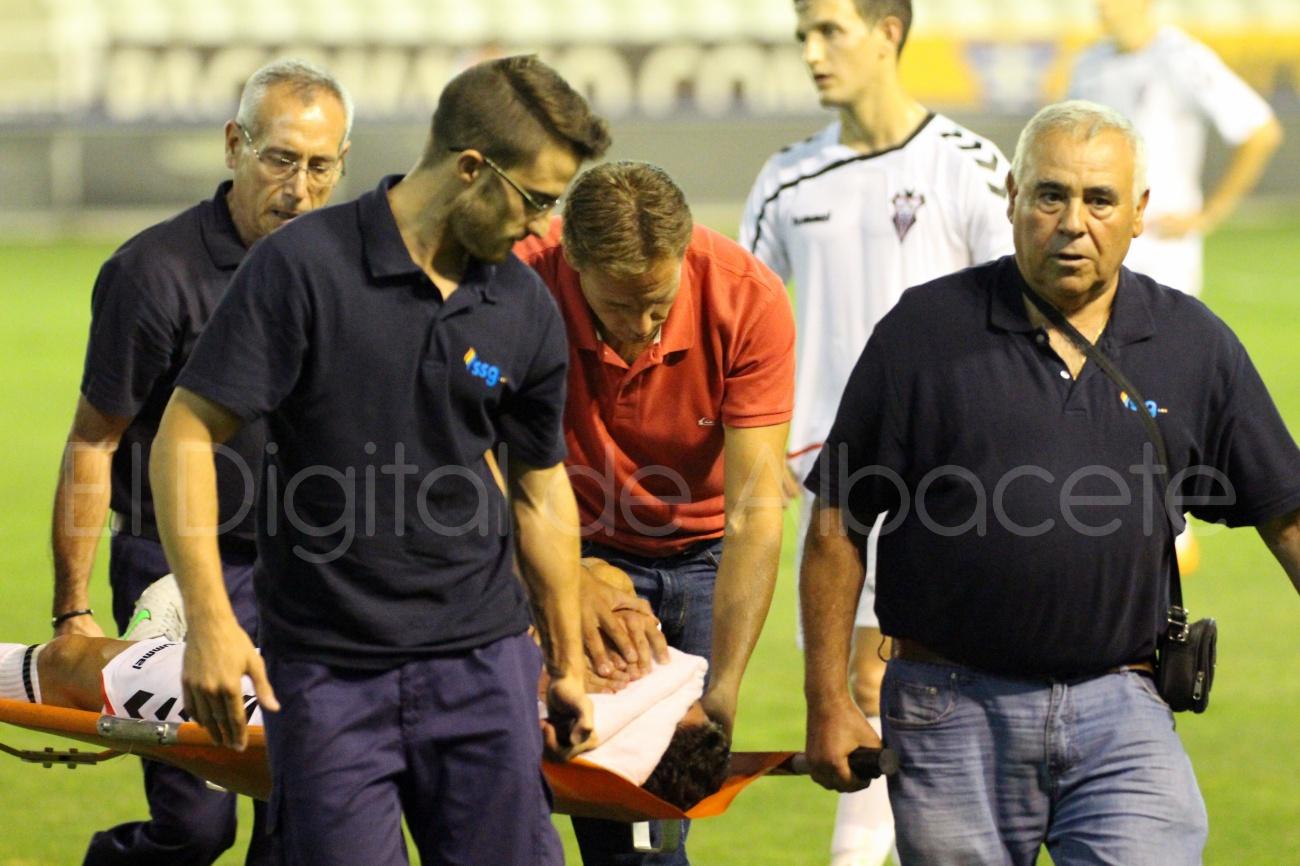 Albacete Balompié Getafe Pretemporada Javi Romero  34