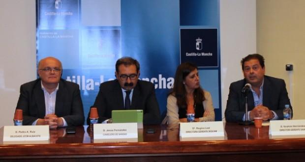 ACTO PRESENTACION IBRAHIM HERNADEZ. HOSPITAL ALBACETE INTERVENCION