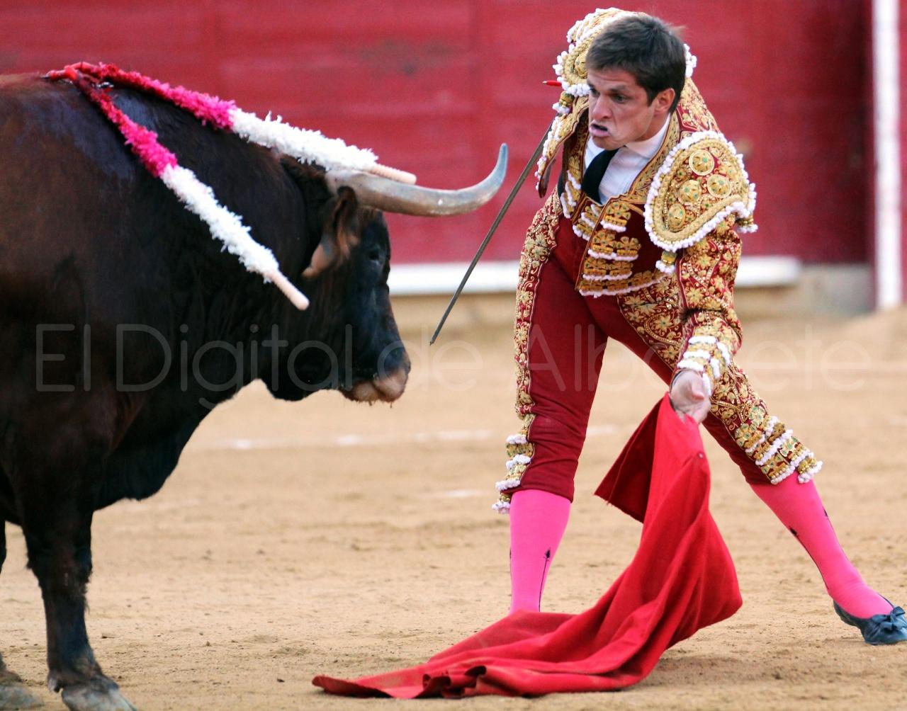 El Juli Lopez Simon y Garrido Feria Albacete 2015 toros  101