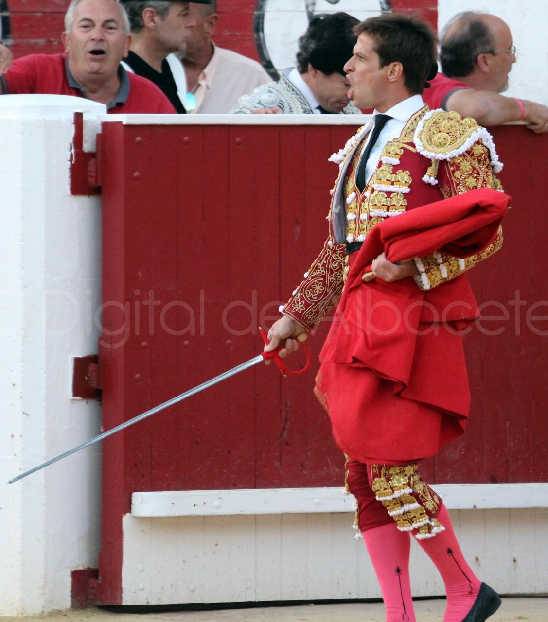 El Juli Lopez Simon y Garrido Feria Albacete 2015 toros  112