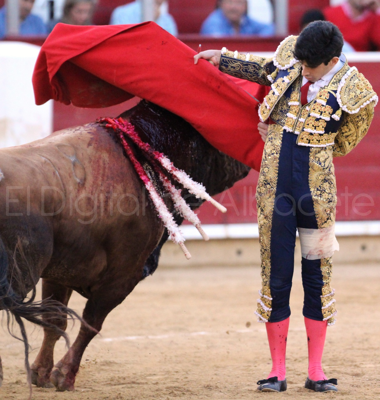 El Juli Lopez Simon y Garrido Feria Albacete 2015 toros  120