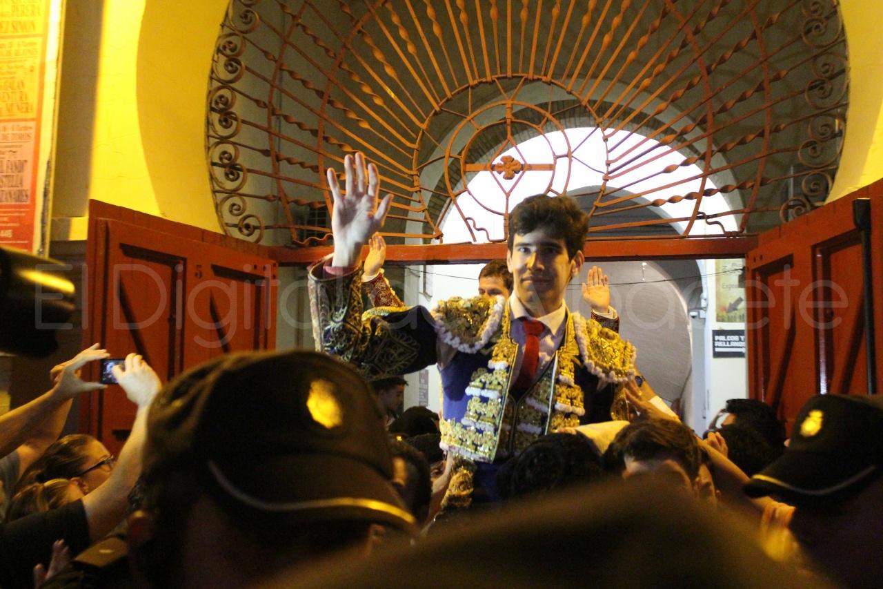 El Juli Lopez Simon y Garrido Feria Albacete 2015 toros  131