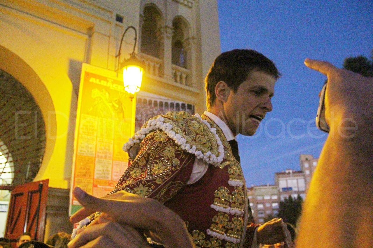 El Juli Lopez Simon y Garrido Feria Albacete 2015 toros  133