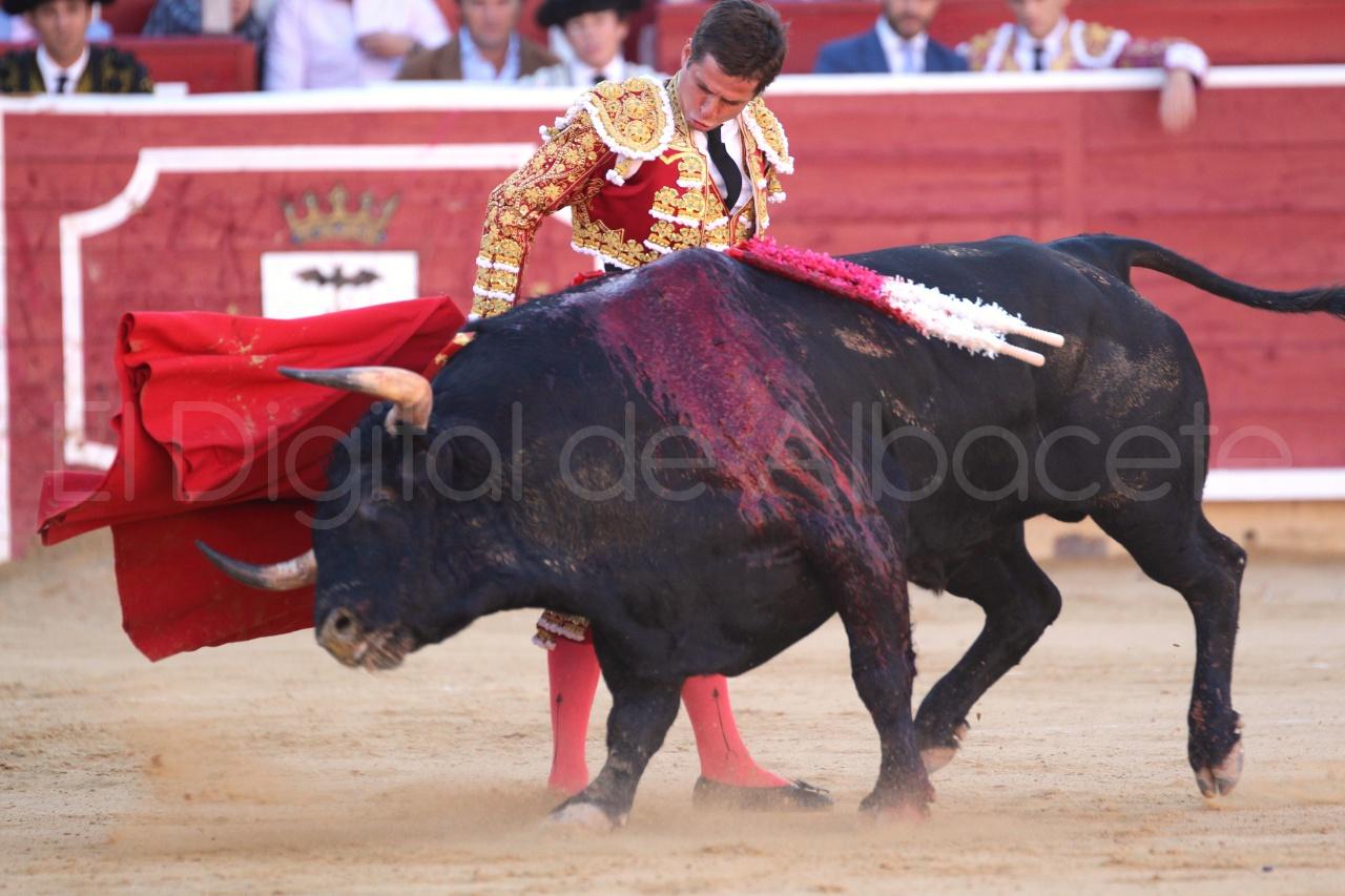 El Juli Lopez Simon y Garrido Feria Albacete 2015 toros  20