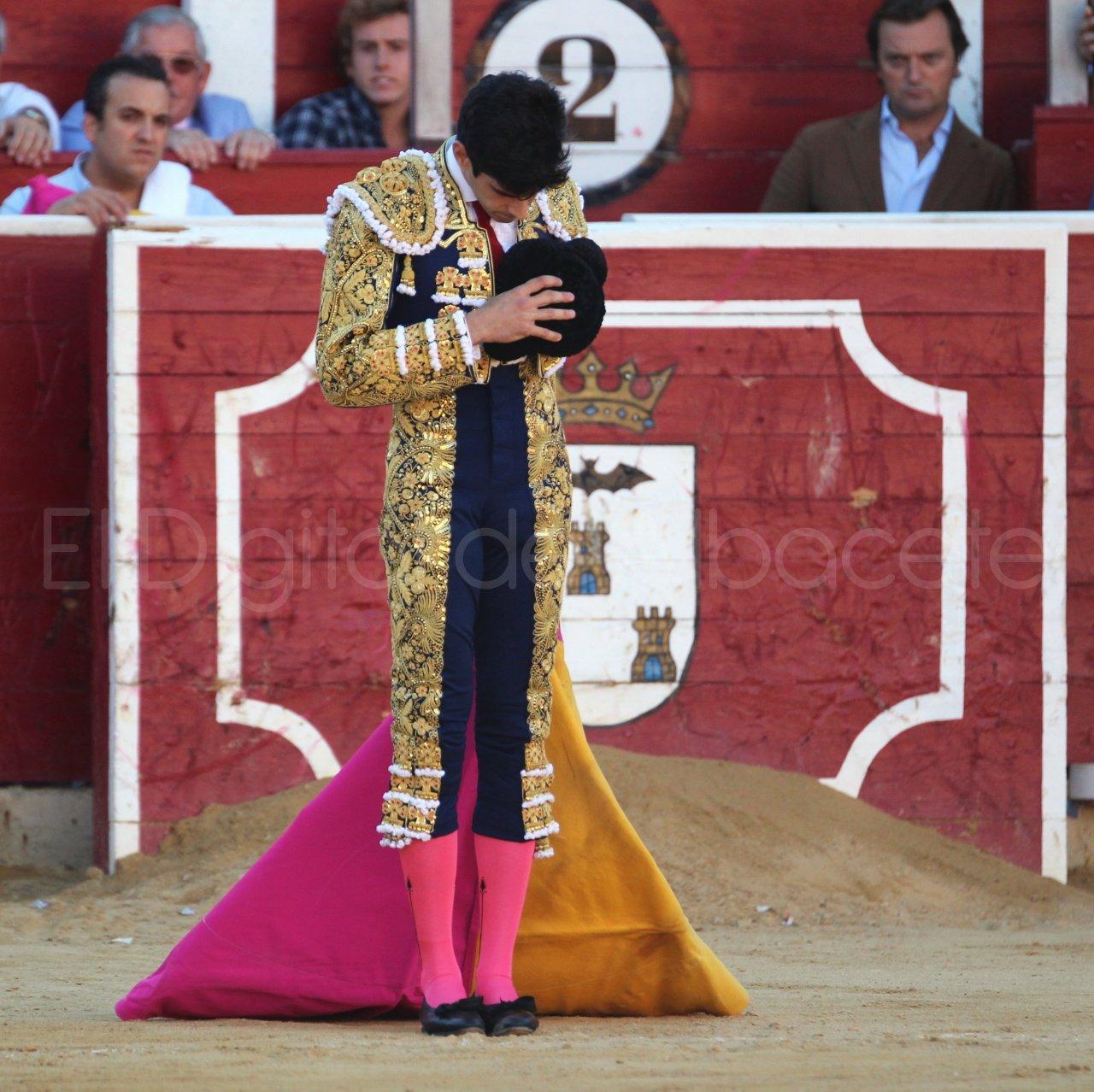 El Juli Lopez Simon y Garrido Feria Albacete 2015 toros  26