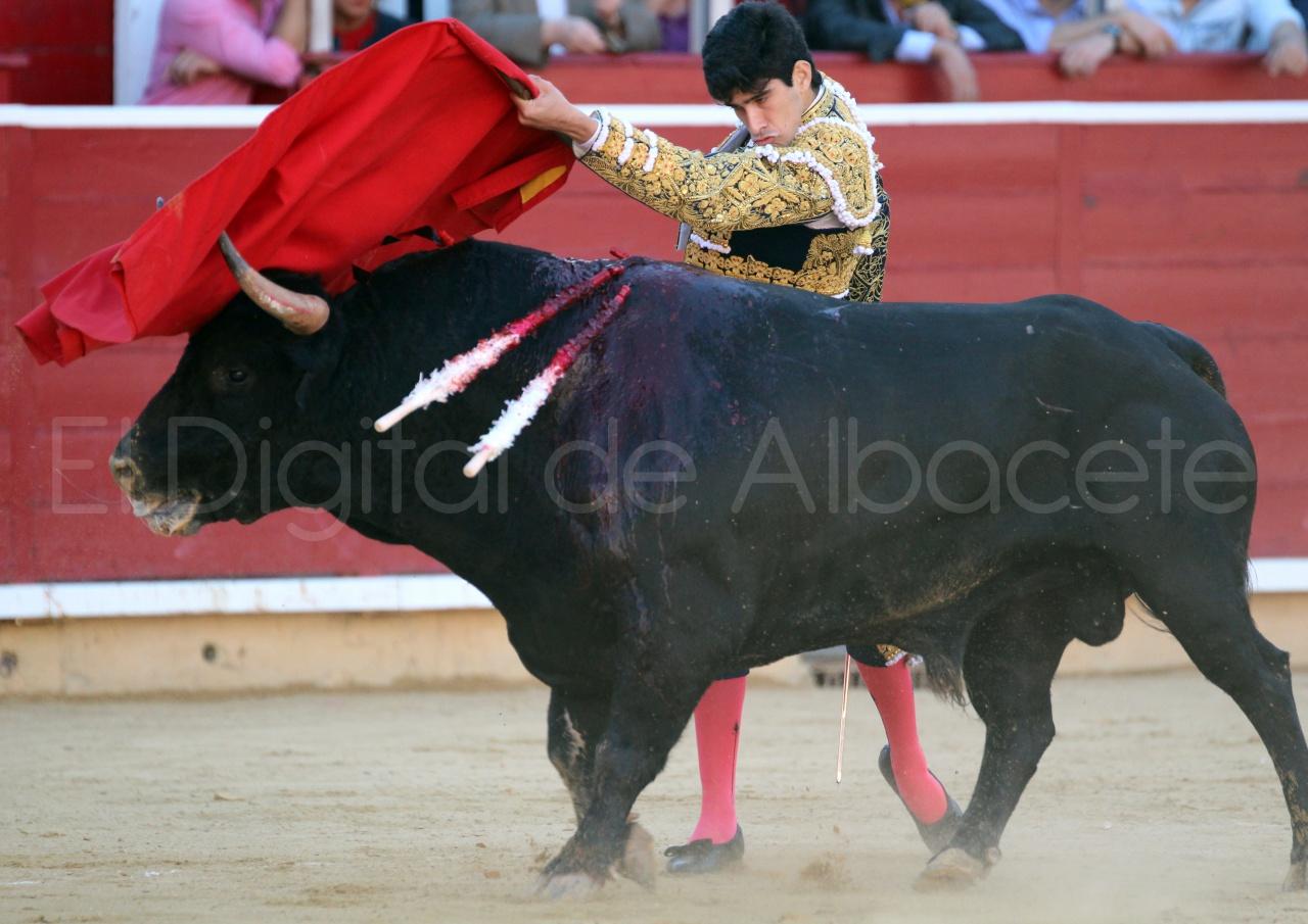 El Juli Lopez Simon y Garrido Feria Albacete 2015 toros  31