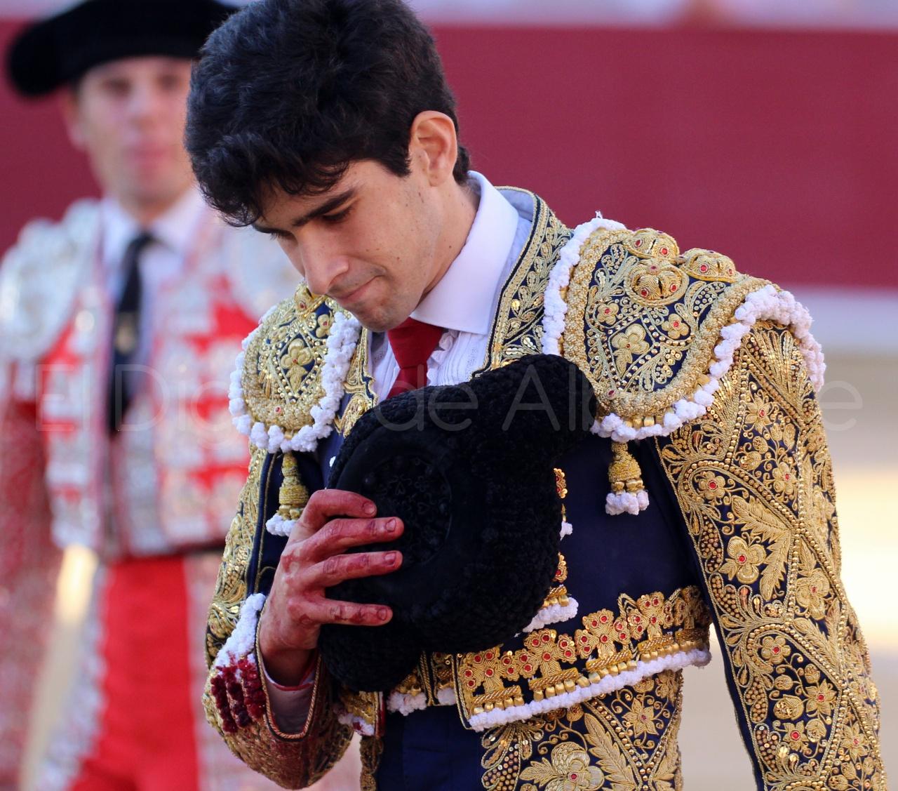 El Juli Lopez Simon y Garrido Feria Albacete 2015 toros  52