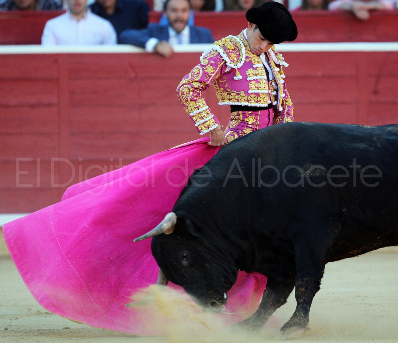El Juli Lopez Simon y Garrido Feria Albacete 2015 toros  62