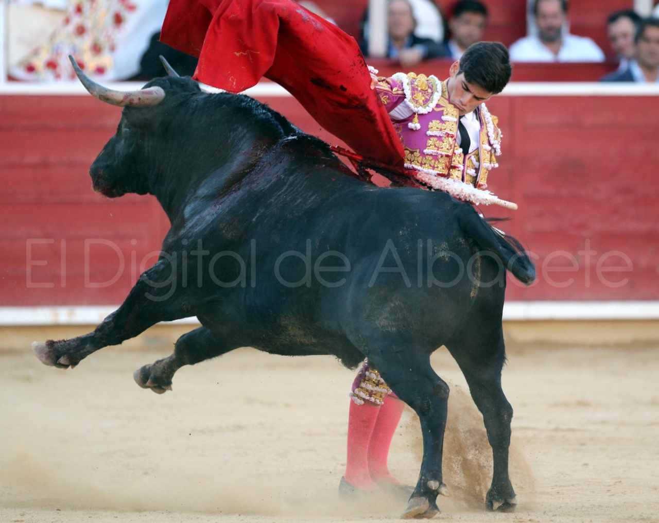 El Juli Lopez Simon y Garrido Feria Albacete 2015 toros  77