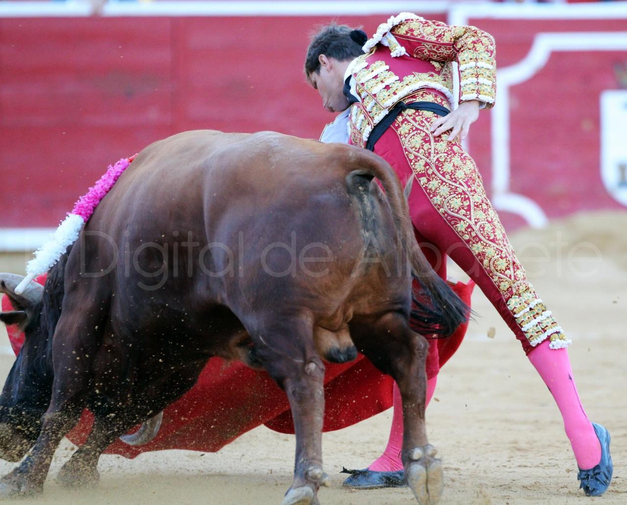 El Juli Lopez Simon y Garrido Feria Albacete 2015 toros  91