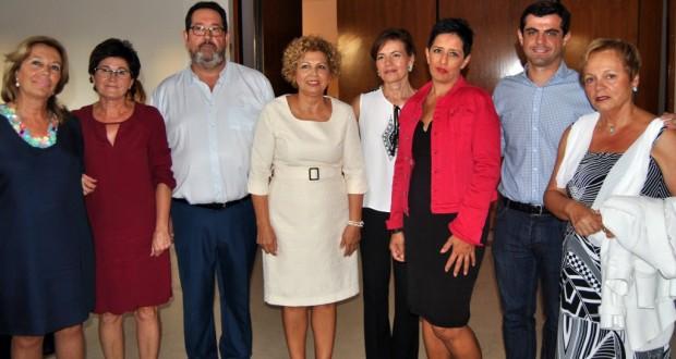 Foto.Acto asociaciones Parkinson de la provincia de Albacete en la Feria.11 9 15
