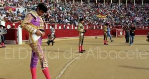 Perera, Castella y Lopez Simon Feria Albacete 2015 toros 11