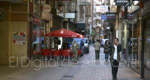 Calle céntrica de Albacete (Pilar Felipe - Archivo)