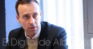 Onésimo González, diputado de Ciudadanos por Albacete (Foto - Pilar Felipe)