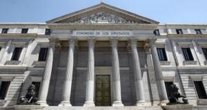 Congreso de los Diputados en Madrid