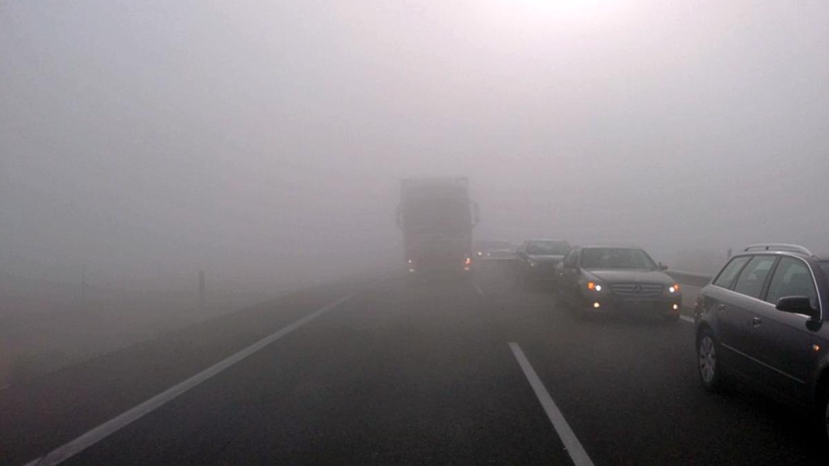La niebla provoca un accidente m ltiple en la a 31 en la - El tiempo en la gineta albacete ...