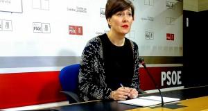 La portavoz del Grupo Parlamentario Socialista de Castilla-La Mancha, Blanca Fernández.
