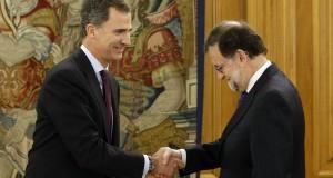 Rajoy anuncia que el Rey no le ha encargado la formación del Gobierno