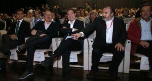 El presidente de Castilla-La Mancha, Emiliano García-Page, inaugura el VII Congreso regional de UGT