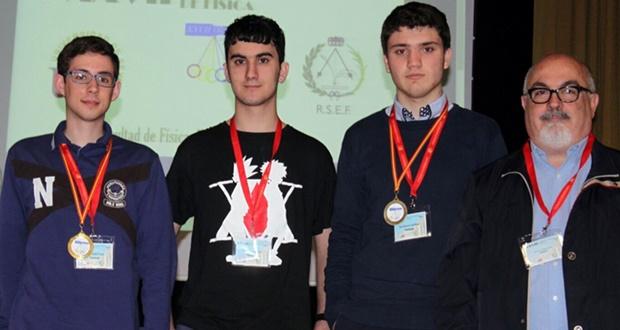 Ganadores de Fase Nacional de la Olimpiada de la Física