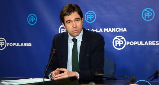 Portavoz adjunto del Grupo Parlamentario Popular, Lorenzo Robisco.