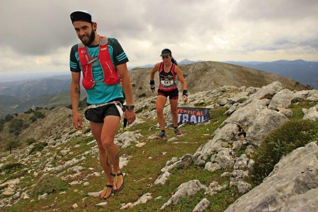 Ángel de la Encarnación y Beatriz Real vencieron en la Vertical Trail La Sarga%0A 08