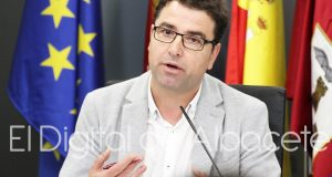 Modesto Javier Belinchón, portavoz del Grupo socialista en el Ayuntamiento de Albacete