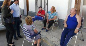 Foto.Visita Barrio La Estrella