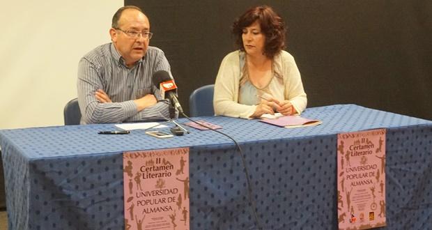 Presentación de las bases del II Certamen Literario de Almansa