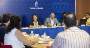 TOLEDO, 25/07/2016. La consejera de Bienestar Social, Aurelia Sánchez, preside en Toledo,  la Mesa Sectorial de Bienestar Social de Castilla-La Mancha. (Fotos: Ignacio López//JCCM)