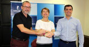 Foto.Firma del convenio 'Albacete Integra' 2016