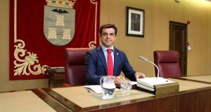 Foto.Javier Cuenca.Debate Estado del Municipio.25-7-16