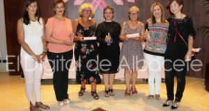 Foto.Presentación perfume solidario AMAC.25-7-16