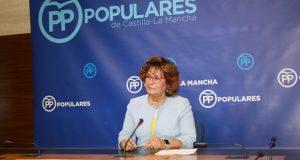 La portavoz del PP, Carmen Riolobos