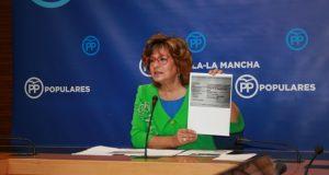 La portavoz del PP de Castilla-La Mancha, Carmen Riolobos