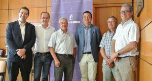 Reunión con los representantes de UPA y COAG de Castilla-La Mancha
