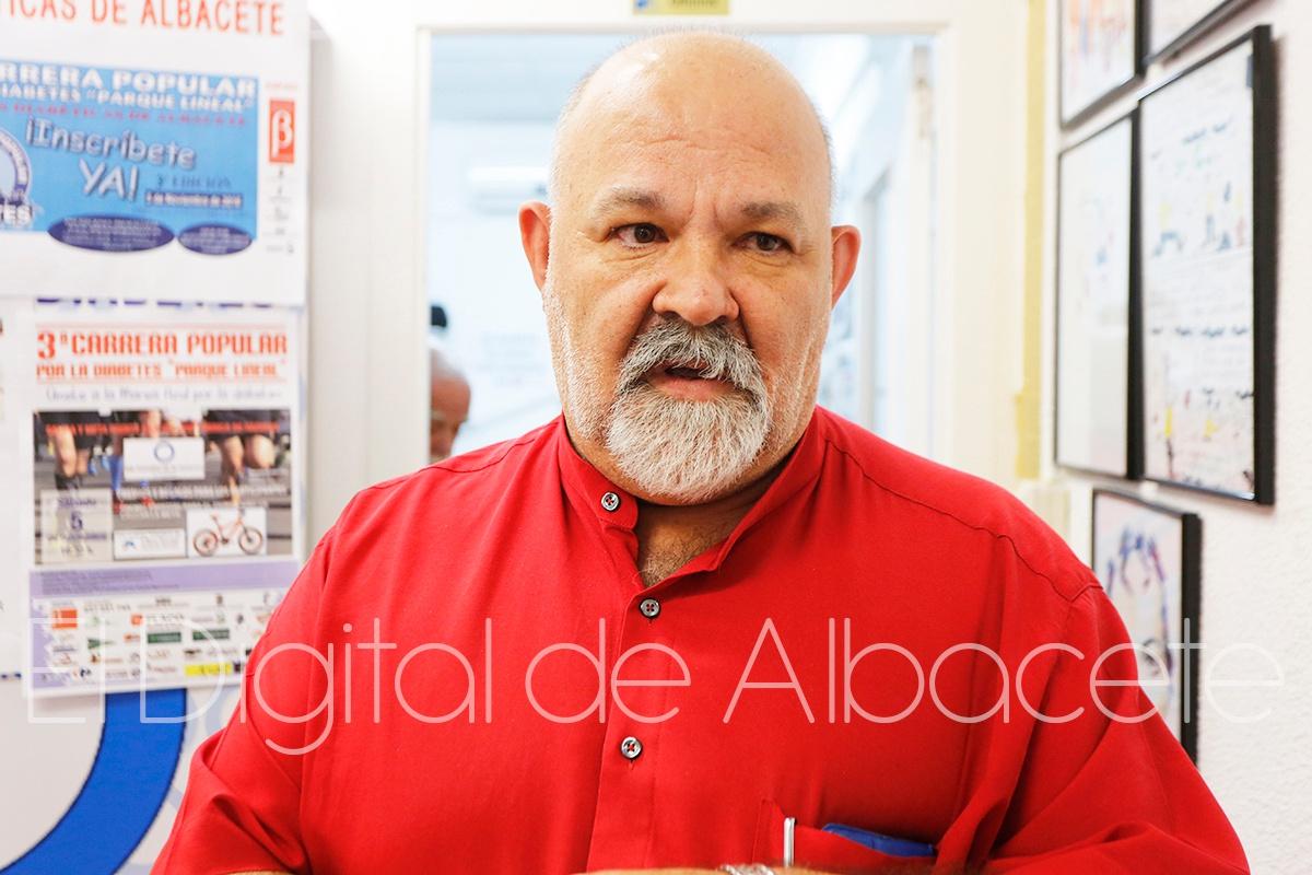 Presidente de Asfadi, Deogracias Martínez.