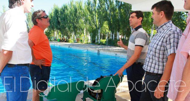 Una semana para el cierre de las piscinas municipales en for Piscina municipal albacete