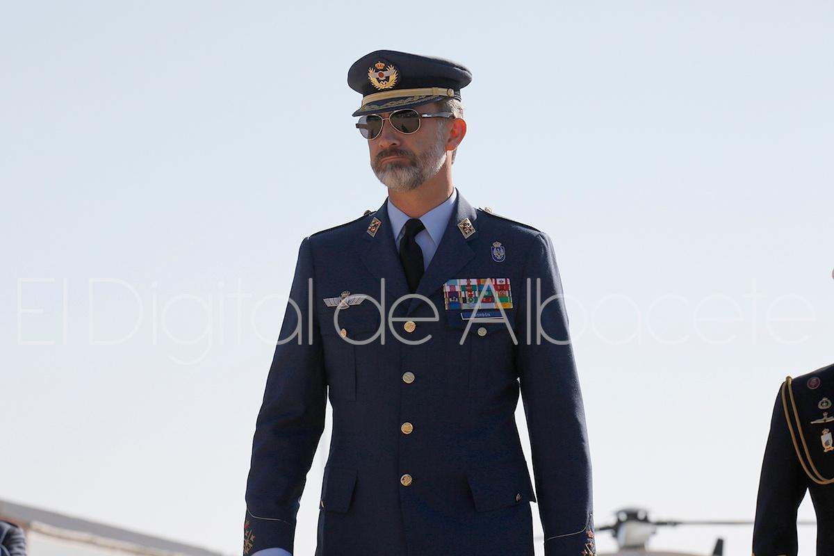 Король Испании посетил авиабазу ВВС Испании в Альбасете