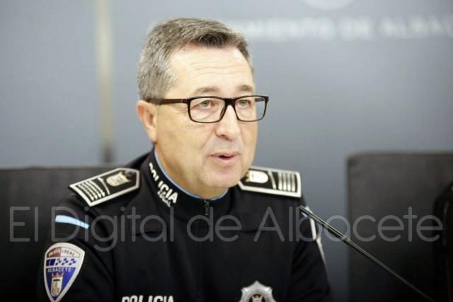 Pascual Martínez. Intendente Jefe de la Policía Local de Albacete. Archivo