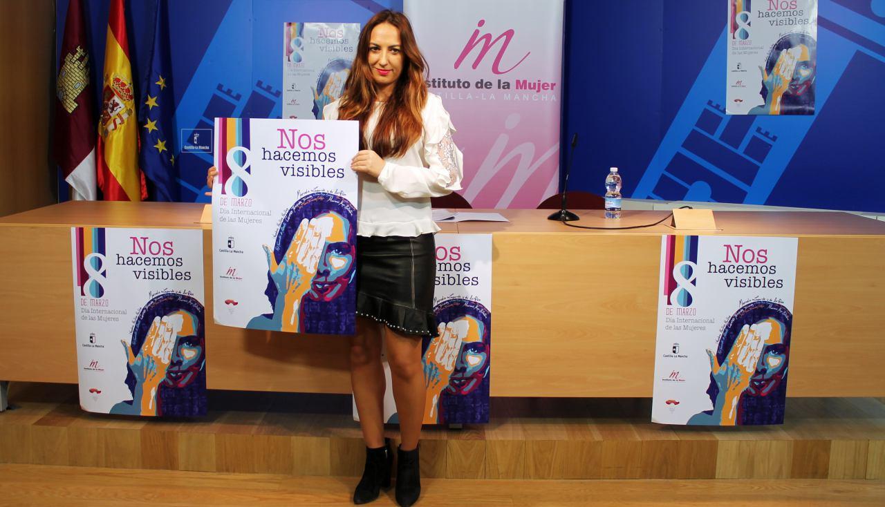 """e0b151345 El Instituto de la Mujer de Castilla-La Mancha escoge el lema """"Nos hacemos  visibles"""" para las actividades relacionadas con el 8 de marzo - El Digital  de ..."""