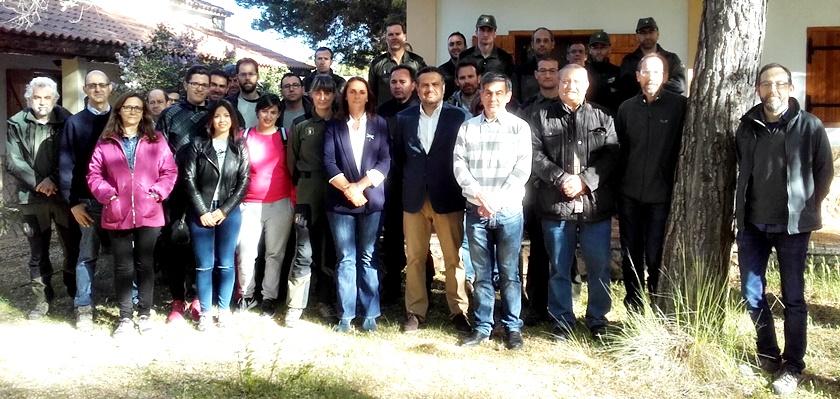 Foto JCCM Albacete- Curso Alerta Tendidos sobre Avifaunia
